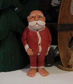 Your place to buy and sell all things handmade Vintage Santa Claus, Vintage Santas, Saint Nick, Santa Figurines, Whimsical Christmas, Long Johns, My Signature, The Night Before Christmas, Photo Props
