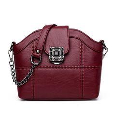 153a24a38ab Women Quality PU Leather Hasp Zipper Vintage Functional Shoulder Bag  Crossbody Bag. Womens Tote BagsCheap ...