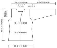 """DROPS 112-4 - Im Perlmuster gestrickte DROPS Jacke in """"Alpaca"""". Grösse S - XXXL. - Free pattern by DROPS Design"""