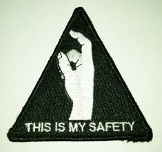 This is my Safety Military Tacitcal Velcro Morale Patch black hawk down
