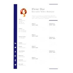 Resume Templates Apple Pages #apple #pages #resume #ResumeTemplates #templates