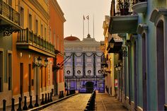 Puerto Rico (Old San Juan) - beautiful place and I'm gonna go back!