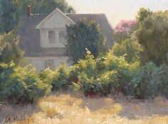 In The Vines by Kathleen Dunphy Oil ~ 12 x 16