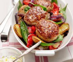 Recept: Kycklingbiffar med persilje-och citronkräm