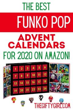 They're adorable. They have giant heads. They come in all of the characters that your kids and teens love! You can find amazing FUNKO POP Advent calendars for everyone on your Christmas list. The FUNKO POP calendars will have you opening up a different cute character every day to celebrate the advent of Christmas. Let's celebrate Christmas coming (and 2020 ending!) with a fun advent calendar.