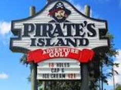 Pirates Island Adventure Golf- Gulf Shores, Alabama