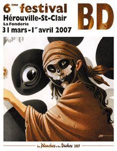 6e Festival BD Herouville-st-clair 2007 - W.B.