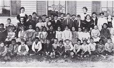 Waquoit school 1900.