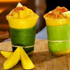 Raspado de mango con chile piquín