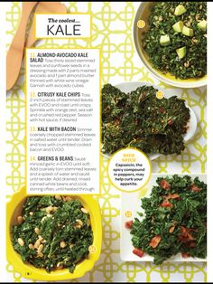 ... Kale on Pinterest | Kale recipes, Kale salads and Kale chip recipes