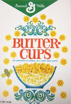 Buttercups for breakfast in 1965
