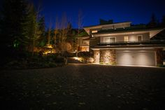 Create Dramatic Curb Appeal with some well placed Lighting.
