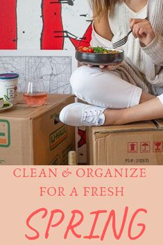 New seasons are for new beginnings. Click through to start your spring off fresh with the right supplies👍 Moving Kit, Moving Boxes, Wardrobe Boxes, Clear Bins, Moving Supplies, Corrugated Box, Organizing Your Home, Diy Organization, Household Items