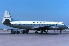 VASP Brazilian Airlines Vickers Viscount