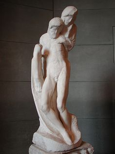 Michelangelo (1475–1564). Pieta Rondanini (unfinished) 1564. - http://endpiece.tumblr.com