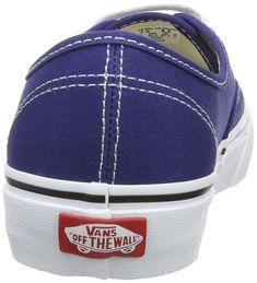 c661f40d86 Vans Unisex Classic Authentic Sneakers 6.5 BM US Women   5 DM US Men  Twilight Blue