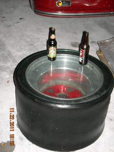 I've made one of these with real NASCAR tires!!