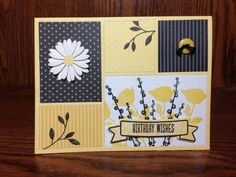 Taylored Expressions Color Block Die, Peaceful Wildflowers (MFT) by beesmom - Cards and Paper Crafts at Splitcoaststampers