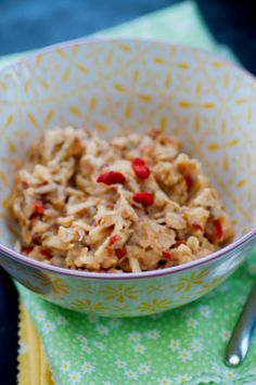 Energie-Frühstück für stressige Tage - Haferbrei - Kubiena - Kochblog