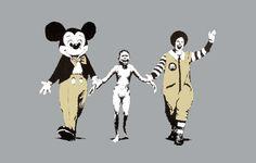 L'artiste : Banksy est le pseudonyme d'un artiste connu pour son art urbain (ou street art ) et également comme peintre et réalisateur . Dissimulant sa véritable identité, Banksy est entouré de mystère. Des spéculations sont faites, fondées sur des images...
