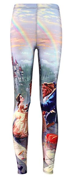 Women's Beauty & The Beast Leggings