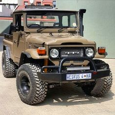 Toyota Land Cruiser FJ40                                                                                                                                                                                 More