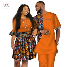 African Men and Women Ankara print couple dress, african clothes for boyfriend,girlfriend wedding Dress and men suit o-neck men two piece set dashiki short sleeve cloth plus dresses two piece short Couples African Outfits, African Clothing For Men, African Shirts, Couple Outfits, African Attire, African Wear, African Dress, African Clothes, Family Outfits