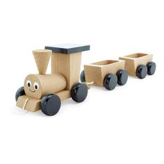 Our adorable wooden steam train Poppy is another treasured addition to our amazing wooden toy collection. She is a lovely gift for both boys and girls.Your little ones will love filling up her carriages with all sorts of goodies! Each carriage easily detaches with a button type fastener so even the smallest hands can practice undoing them and re-attaching them. Your child is going to have hours of fun practicing their fine motor skills while taking Poppy on great adventures.This sturdy and…