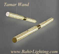 Tamar Wand; Handmade. One at a time. It's not just lighting. It's art. Bahir Lighting 612-343-2000