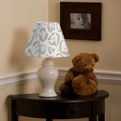 Black white oversize polka dot lamp shade its black white white and black damask lamp shade carousel designs this lamp and decorative shade are the perfect feminine touch aloadofball Gallery