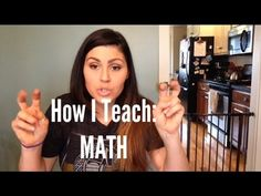 Watch this video from a Math-U-See user about how they teach math.