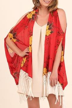 89bec2698 Shop Clothing Jackets, Coats & Blazers Kimonos & Wraps. Bright YellowYellow  FlowersBleachKimonosKimono TopWisconsinBlazersVibrantHighlights