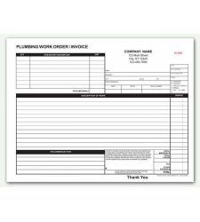 Large Service Record Labels White With Blue Border Just For