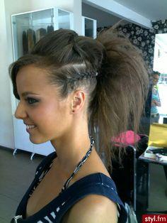 Street cheer hair ideas!