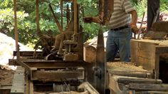 The Process: Crafting a Rustic Farm Table | Man Made DIY | Crafts for Men | Keywords: woodworking, rustic, wood, farm