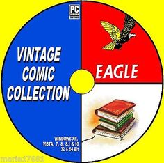 #Massive #collection of 300+ uk #vintage eagle comic issues 50s 60s 80s new pc dv,  View more on the LINK: http://www.zeppy.io/product/gb/2/141872190416/