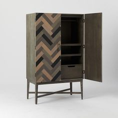 parquetry armoire west elm - Google Search