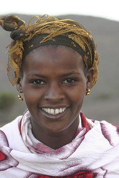 Ethiopian Portraits : Borana girl