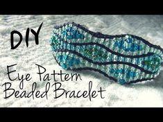 Beaded Bracelet Wave. 3D Beading Tutorial - YouTube