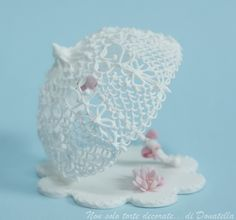 Royal Icing filigree parasol by semalo63, via Flickr