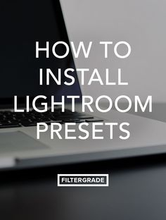 Learn how to install Lightroom Presets quickly and efficiently in this tutorial. We'll walk you through all the necessary steps to save time editing photos.