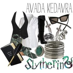 Yeah. That's right. Slytherin has evil and fashion sense.