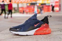 139df6a423b6 Nike Air Max 270 AH8050-401 Blue Red Shoes for Sale-02 Air Max