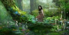 Justin Sweet. Snow White and the Huntsmen. So lovely. Seriously folks, visit his website! Stunning work!