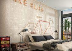 Carta da parati Glamora - Bike Club