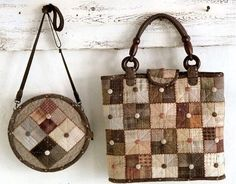 Quilted :: patchwork bag