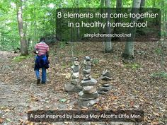 8 elements that come together in a healthy homeschool
