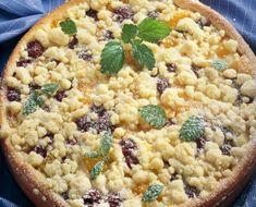 Bleskový ovocný koláč Gottovej kuchárky. Tento skvelý recept zvládne naozaj každý! | Šarm Macaroni And Cheese, Oatmeal, Breakfast, Cake, Ethnic Recipes, Food, Pastries, Hampers, The Oatmeal