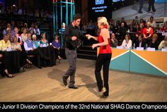 2015 Champs Chase Forrester & Kyler Byrum's winning routine in the National Shag Dance Championship, Junior II Division.