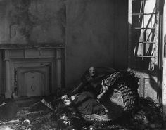 """Clarence John Laughlin, """"The Repulsive Bed"""" 1941 by Black.Doll, via Flickr"""